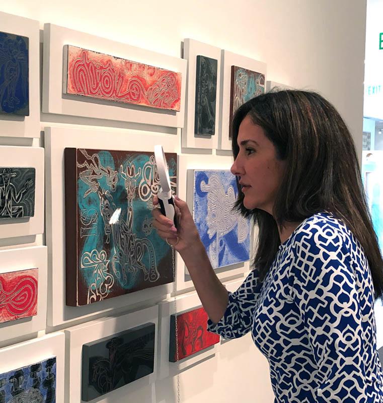 Claudia Luna at Deep Line, Drawings by Carlos Luna; Boca Raton Museum of Art, Boca Raton, FL