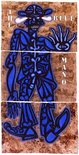 the blue mano